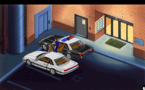 Getting ready to leave good ol' Lytton PD. Prepare for a godawful driving section (best turn the music off, too).