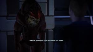 Wrex isn't really a big talker.