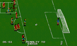 That's a penalty, Clive.