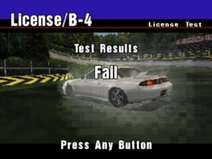 Everyone fails their B License on their first go. Even your Dad did - although he'd never admit it now.