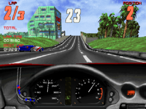 I never actually used this car, or the dashboard view. But you've got to mix it up for the screenies, don't you?
