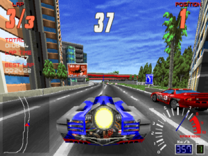 Unlocking the rocket car means you're unlikely to ever lose a race again. We're lapping this guy right now.