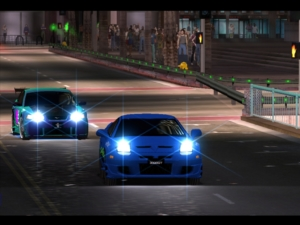 Graphically the game holds up pretty well, although in replays the cars do appear to skate over the top of the road.