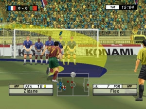 The arrow for aiming free kicks is about as much use as a chocolate teapot.