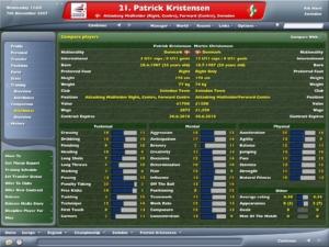 Now, I like Patrick Kristensen, but I also like Martin Christensen. But which one is better?