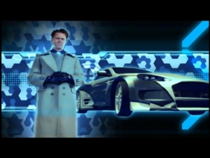Wingmen and bosses are all introduced via video sequences straight out of Zoolander.