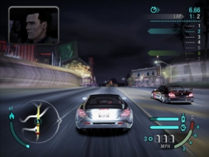 Screenshots of racing games taken only seconds into a race, #655: