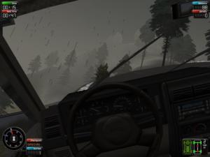 Working windscreen wipers: always a bonus, in my book.