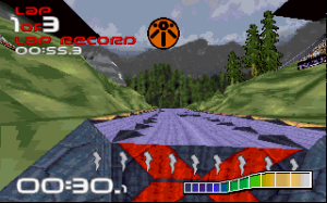 Wipeout is best experienced using the first-person view.