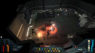 Robo-Seth gets blasting.