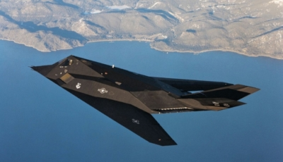 Actual stealth fighter